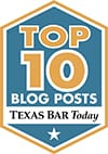 Texas Bar Today Top Ten Badge